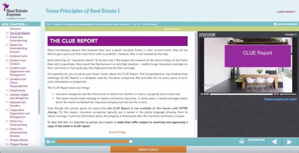Real Estate Express lesson 1 screenshot
