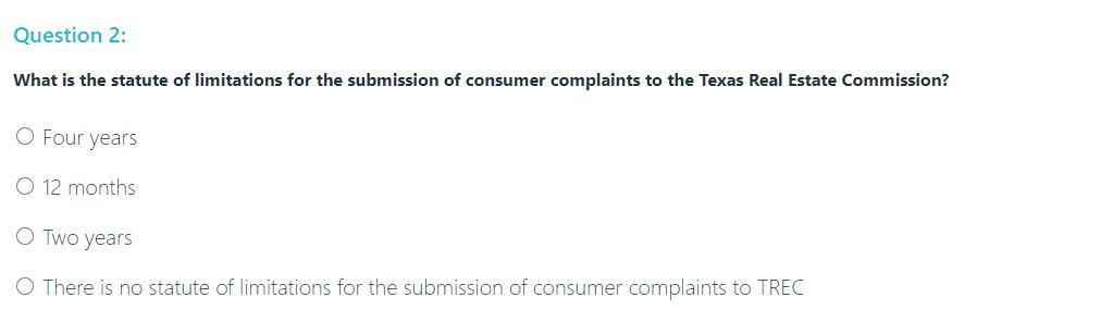 AceableAgent Test Question Screenshot