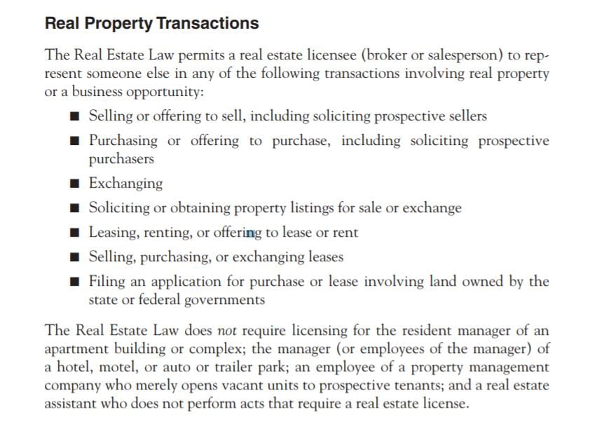 AceableAgent Transactions PDF Screenshot
