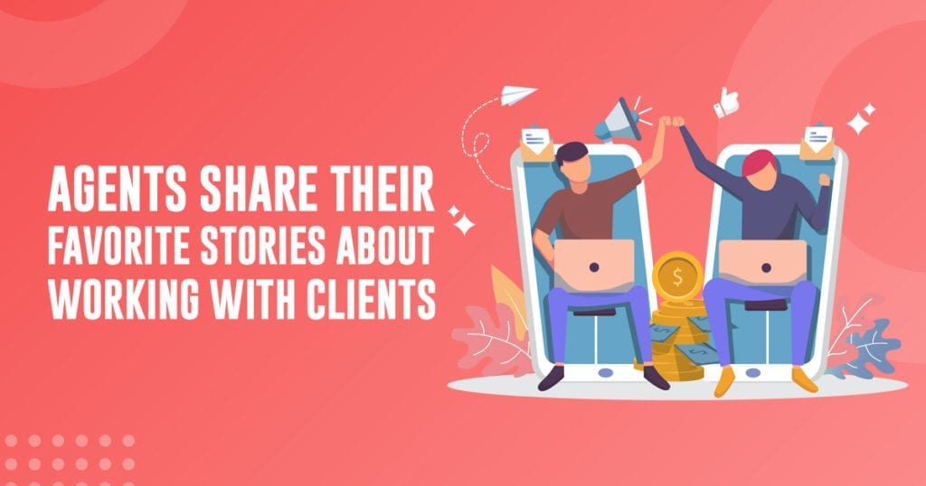 stories of working with clients