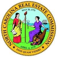 north carolina real estate commission logo