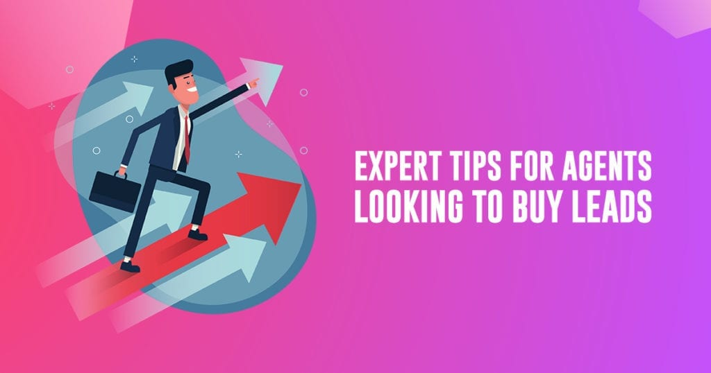 tips for agents looking to buy leads
