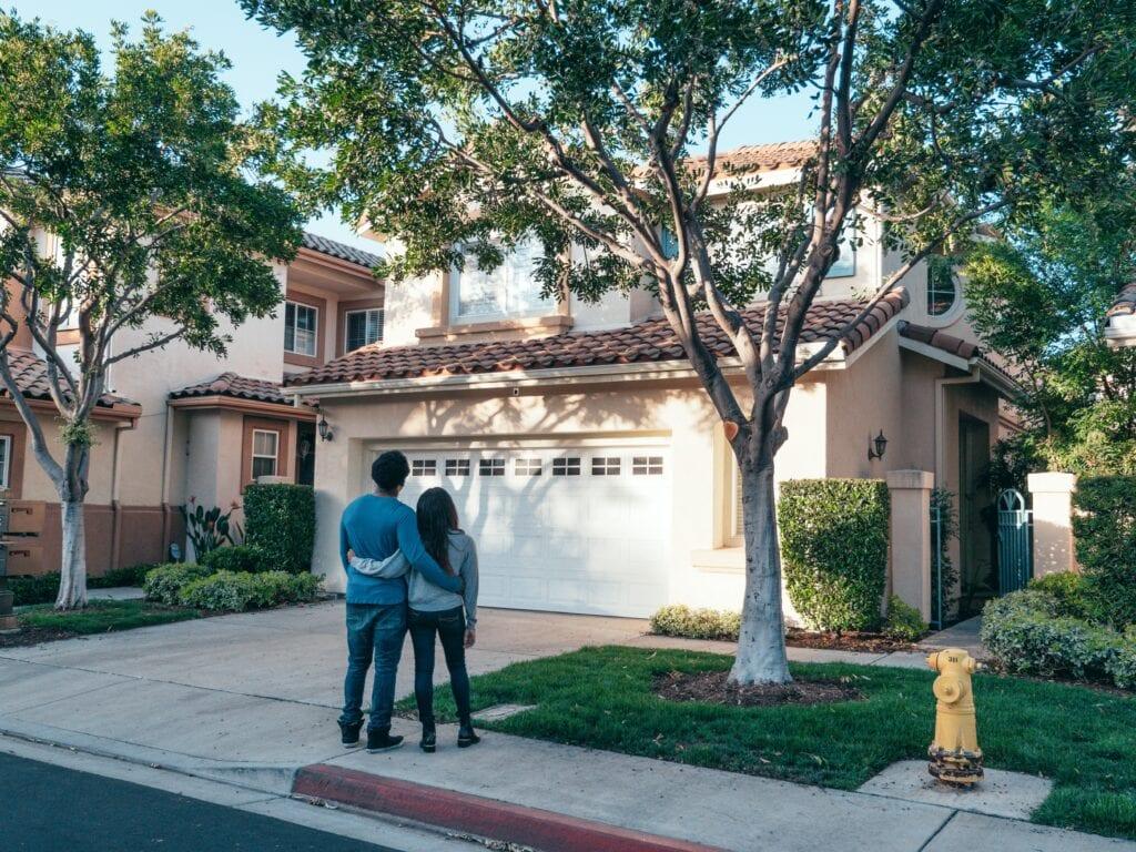 couple buys home
